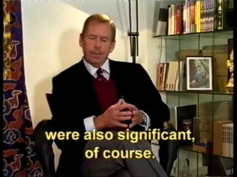 Václav Havel thoughts on the significance of RFE, October 2004
