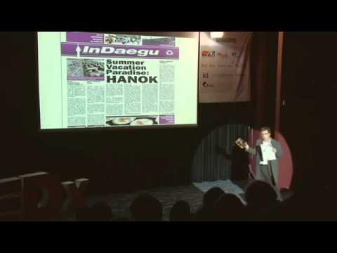 "TEDxPalgong - Craig White - The Story about Foreiner, inside of ""Daegu Poket"""