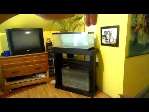Staining Aquarium Stand Black 20 Gallon Reef Build Part 3