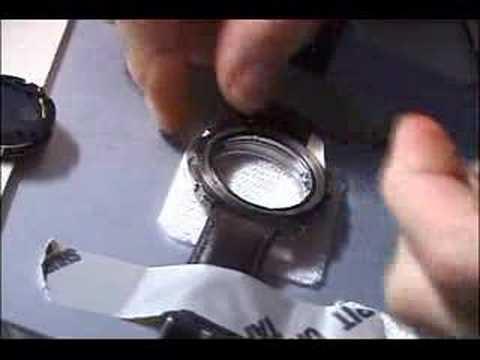 Watch Repair in Microgravity
