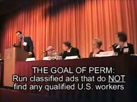 Secret Video-Immigration Lawyers teach companies how to steal jobs from USA workers