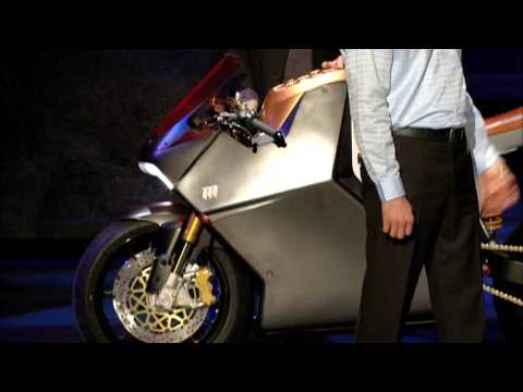 Yves Behar's supercharged motorcycle design