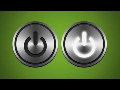 Photoshop: Animated Glowing Button