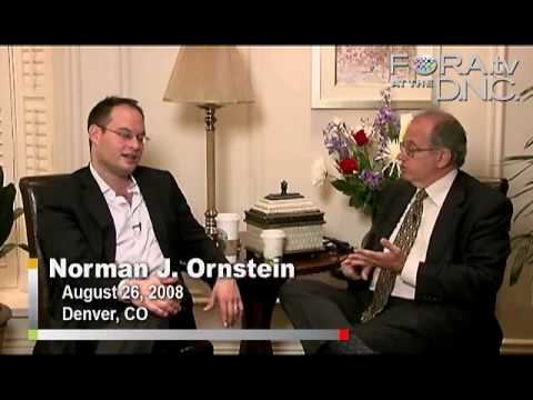 Obama the Candidate, Obama the Leader - Norm Ornstein