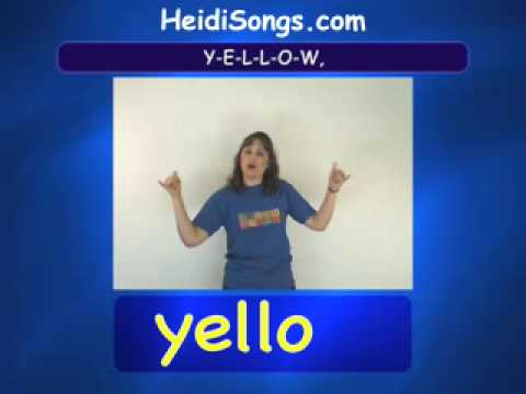 Yellow song - Sing & Spell Vol.2