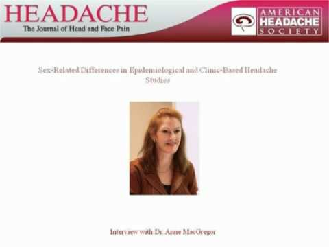 Sex-Related Differences in Epidemiological and Clinic-Based Headache Studies