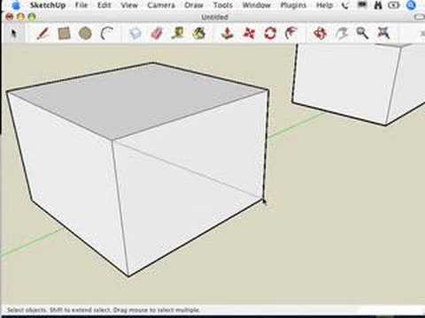 SketchUp: Edges on a face won't sink in
