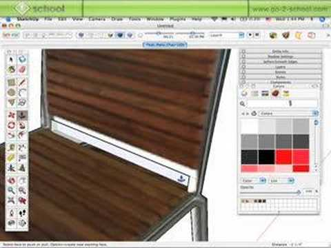 The Sketchup Show #27: Photomatch a Chair Component (Pt.2)