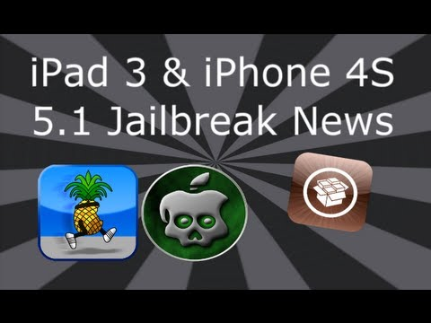 Untethered 5.1.1 Jailbreak (OUT NOW) For iPad 3 & iPhone 4S Absinthe 2.0