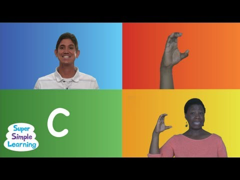 The Alphabet Chant from Super Simple Songs
