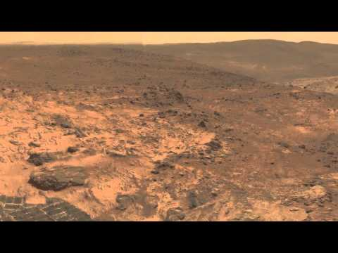 Spirit's Snapshots of Mars