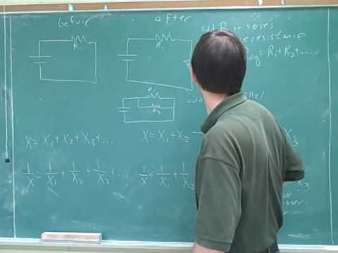 Physics: Electric circuits. Resistors (10)