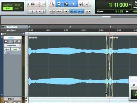 Pro Tools 9 Tutorial - Timing Music To SFX