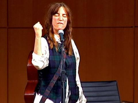 Patti Smith Still Believes 'People Have the Power'