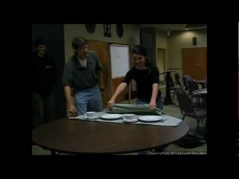Physical Science 2.2i - Pulling a Tablecloth