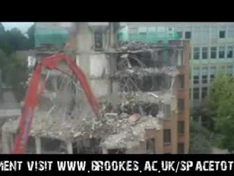 Part 3 - Lloyd Demolition - Oxford Brookes University