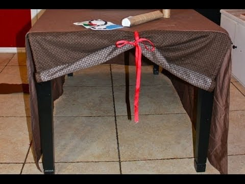 Sew A Basic Table Fort