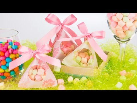 Triangular Easter Bag for Sweets!