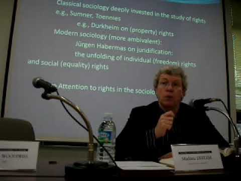 Sociology & Human Rights 3/4 by Mathieu Deflem