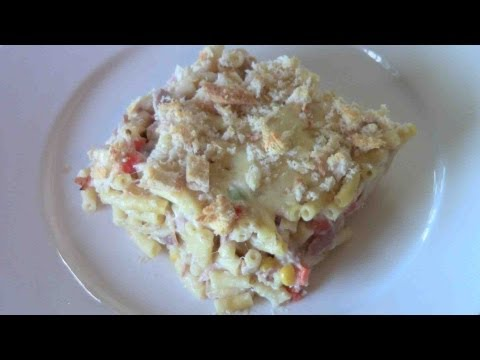 Tuna Macaroni Bake - RECIPE