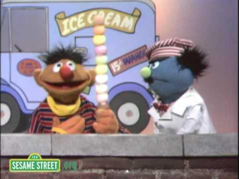 Sesame Street: Ernie's Ice Cream Cone