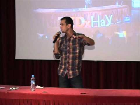 The dream step by step : Mohamed BOUSFIHA (MOMO) at TEDxHay