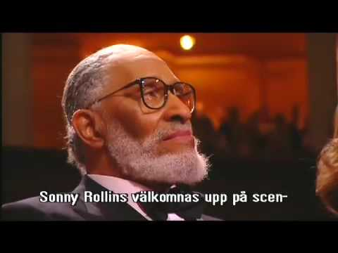 Sonny Rollins Polar Music  Prize 2007 Award Ceremony