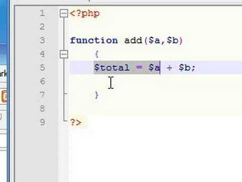 PHP Tutorial - 17 - Return Values
