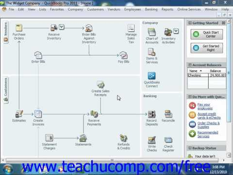 QuickBooks 2011-2006 Tutorial Returning to the Easy Step Interview Intuit Training Lesson 2.4