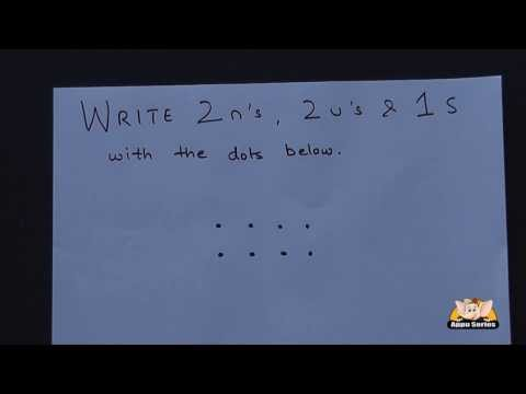 Try a Puzzle - Write 2 u, 2 n, 1 s