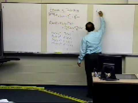Taylor Series: Example to derive series for exp(x)