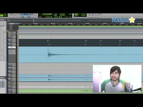Selecting  Part  of a Region - Pro Tools 9