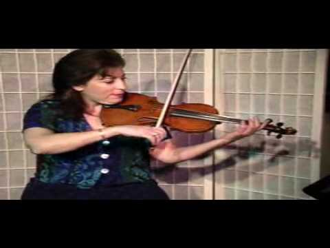 "Violin Lesson - Song Demonstration - ""Good Christian Men..."""