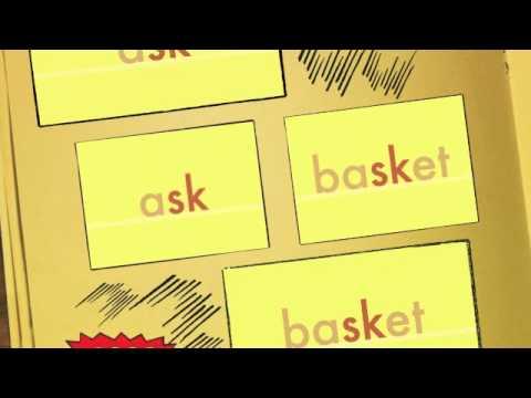 sk - Consonant Blends - sky, mask, basket