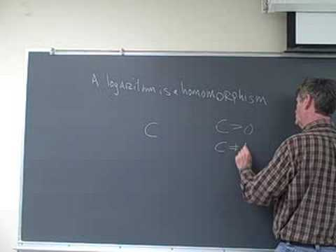 The laws of logarithms