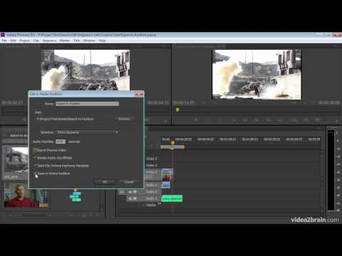 Sending Material from Premiere Pro to Audition