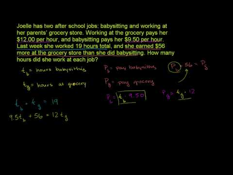 Systems and rate problems 2