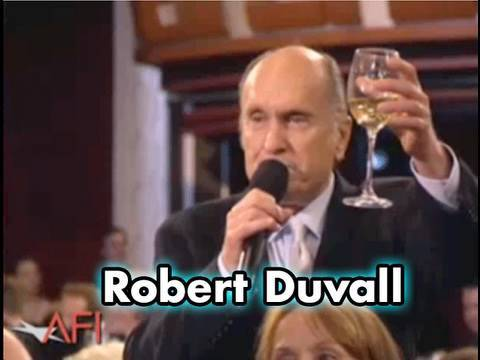 Robert Duvall Toasts George Lucas at the AFI Life Achievement Award