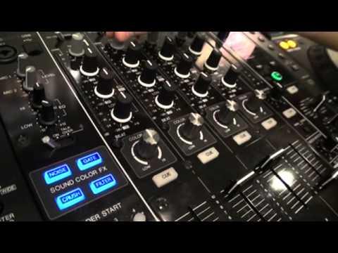 Pioneer DJM850 Demo. Frankfurt  Musikmesse 2012