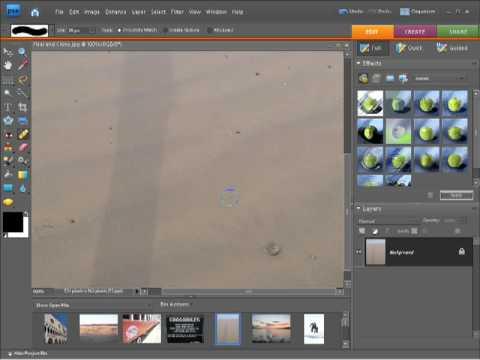 Photoshop Elements 7 Tutorial Video Healing Brush