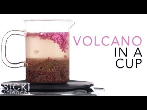 Volcano in a Cup - Sick Science #096