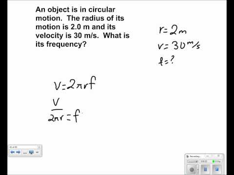 Uniform Circular Motion Presentation #18