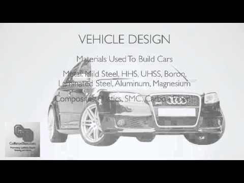 Vehicle Design - A Basic Lesson Overview How Cars Are Made