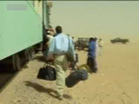 Train travel across the Sahara - Michael Palin for BBC