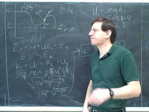 Physics: Work. Conservation of energy (4)