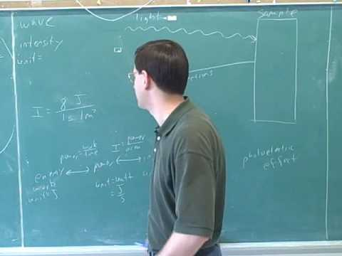 Physics: Photoelectric effect (3)