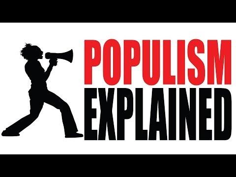 Populism in Ten Minutes