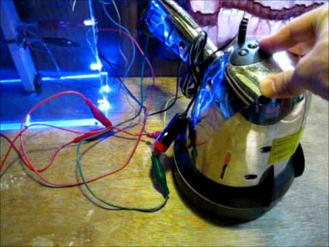 Restoring a lead acid battery in my powerful spot light with an SSG