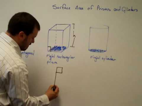Surface Area of a Prism & Cylinnder