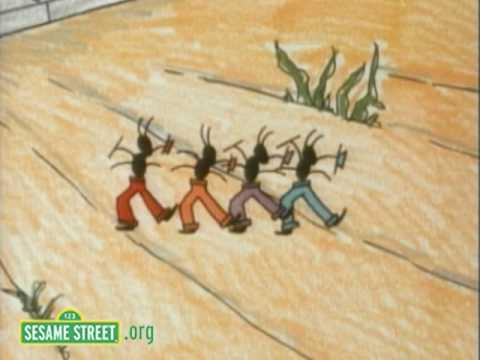 Sesame Street: Hortense and 4 Ants